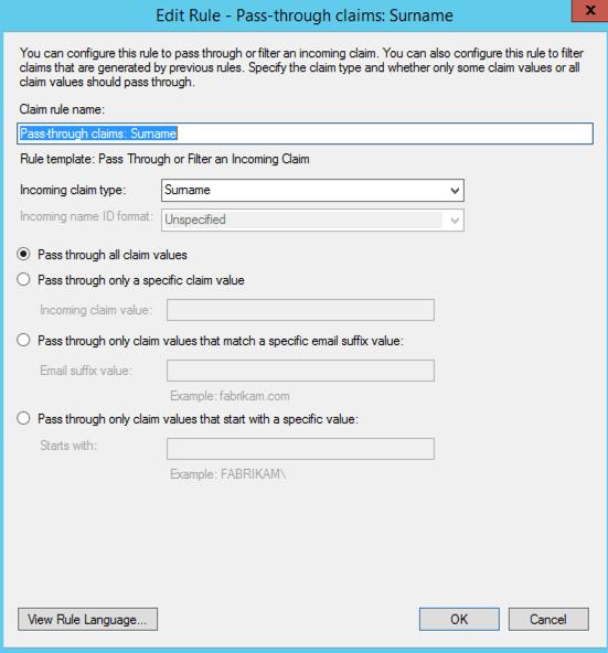 ADFS federation server configuration | Thinking aloud